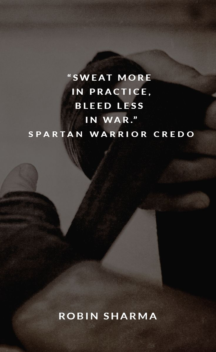 Sweat quote Sweat more in practice, bleed less in war.