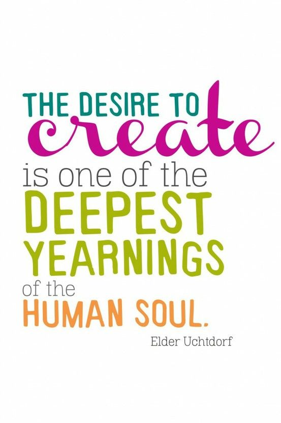 Human trafficking quote The desire to create is one of the deepest yearnings of the human soul.