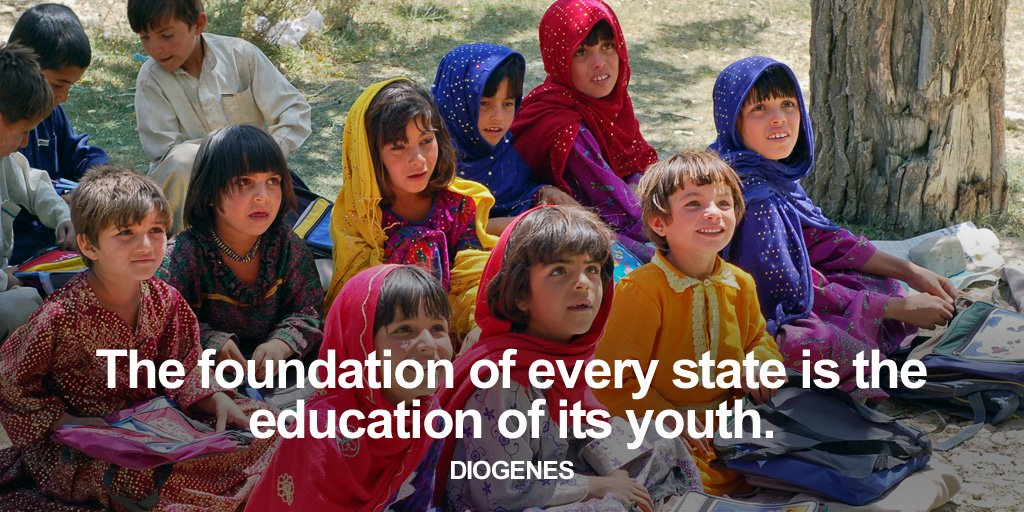 State legislatures quote The foundation of every state is the education of its youth.