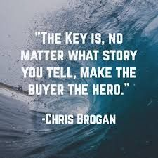 Picture quote by Chris Brogan about business