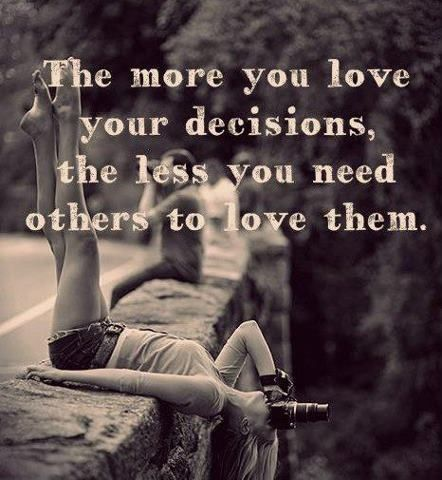 Picture quote by Sayings about decisions