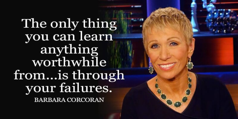 Worthwhile quote The only thing you can learn anything worthwhile from...is through your failures