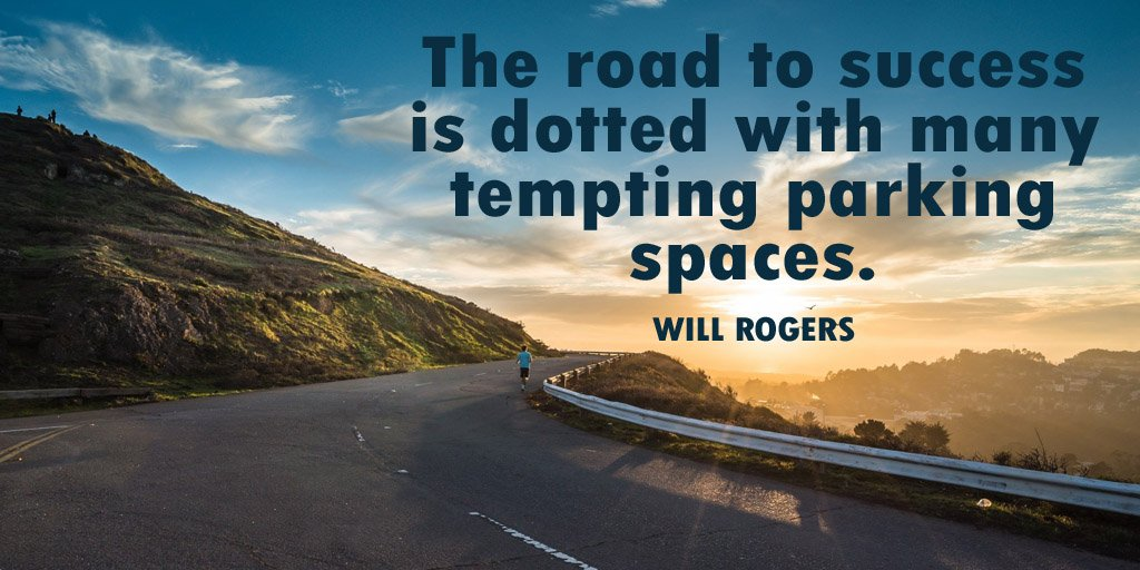 Picture quote by Will Rogers about success