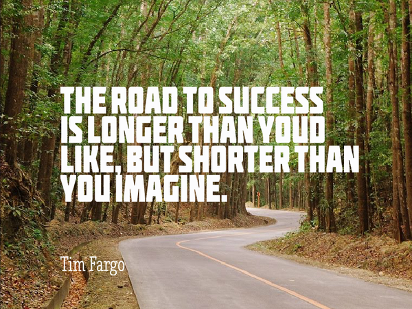 Picture quote by Tim Fargo about success