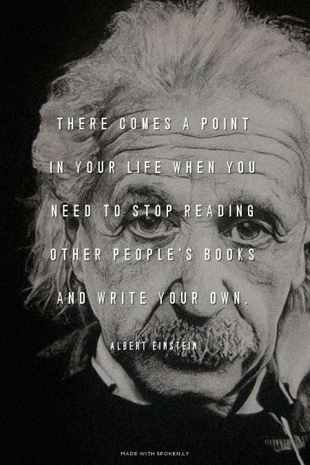 Picture quote by Albert Einstein about motivational