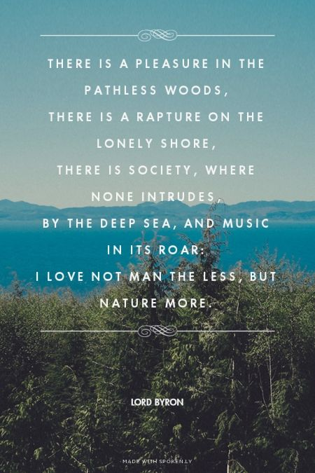 There Is Pleasure In The Pathless Woods - blogspotcom