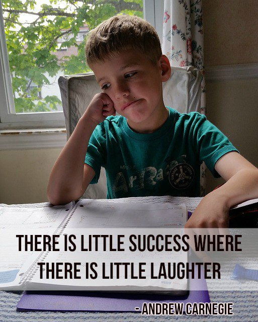 Fun quote There is little success where there is little laughter.