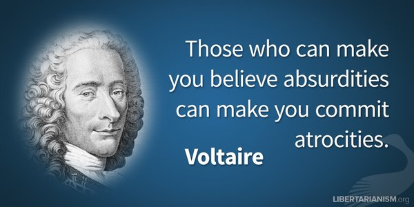 image quote by Voltaire