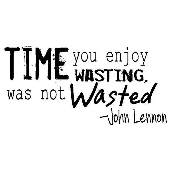 Picture quote by John Lennon about time