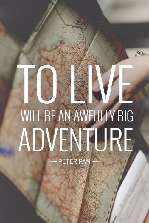 Adventure image quote by Peter Pan