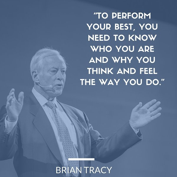 Performance review quote To perform your best, you need to know who you are and why you think and feel th