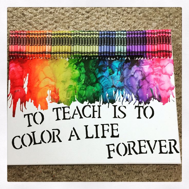 Adult education quote To teach is to color a life forever.