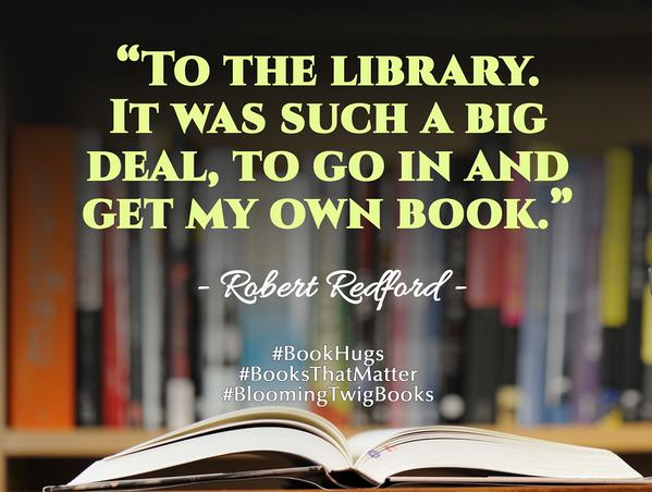Dealing with it quote To the library. It was such a big deal, to go in and get my own book.