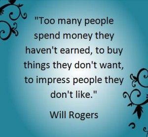 Picture quote by Will Rogers about people