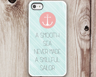 Sail quote A smooth sea never made a skillful sailor