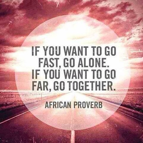 Picture quote by African Proverbs about travel