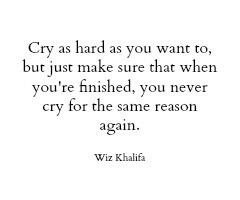 Crying image quote by