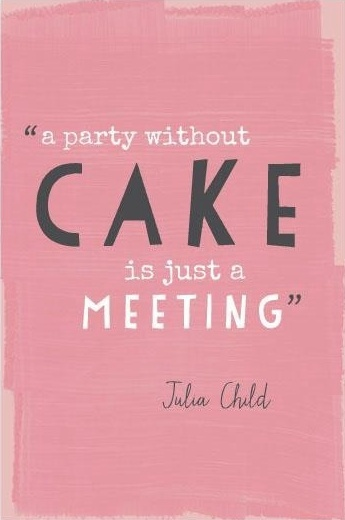 Democratic party quote A party without a cake is just a meeting.