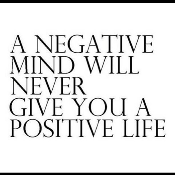 Giving birth quote A negative mind will never give you a positive life
