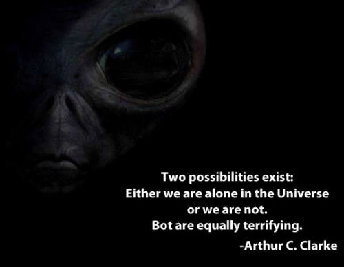 Alien quote image