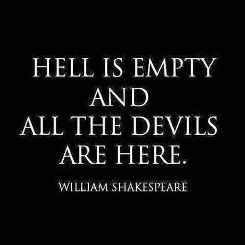 Quote About Devils