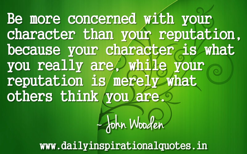 image quote by John Wooden