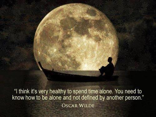 You think you know quote I think it's very healthy to spend time alone .You need to know how to be alone