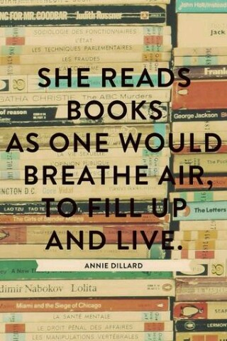image quote by Annie Dillard