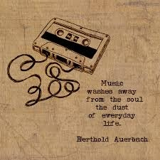 Blues music quote Music washes away from the soul the dust of everyday life.