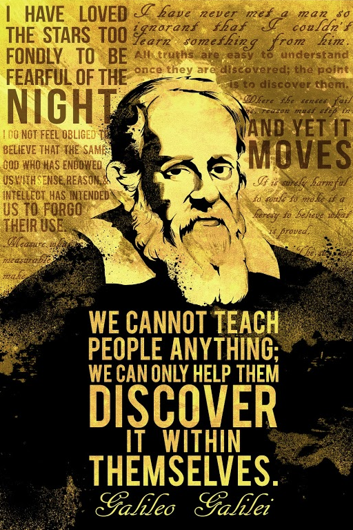 Discover quote We cannot teach people anything; we can only help them discover it within themse