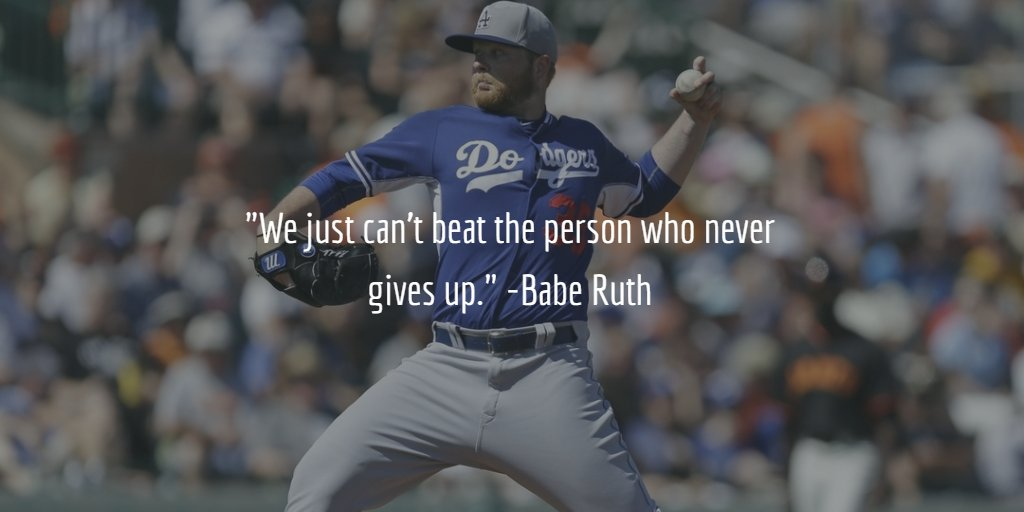 Beat quote We just can't beat the person who never gives up.