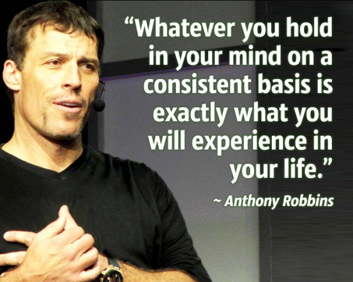 Basis quote Whatever you hold in your mind on a consistent basis is exactly what you will ex
