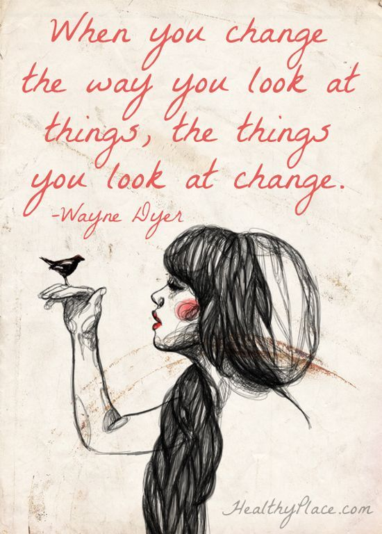 Picture quote by Wayne Dyer about change