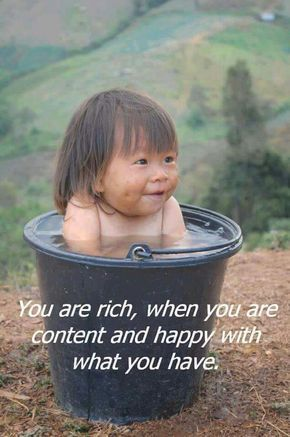 Contentment quote image