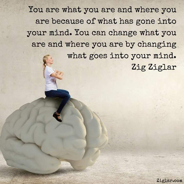Exist quote You are what you are and where you are because of what has gone into your mind.