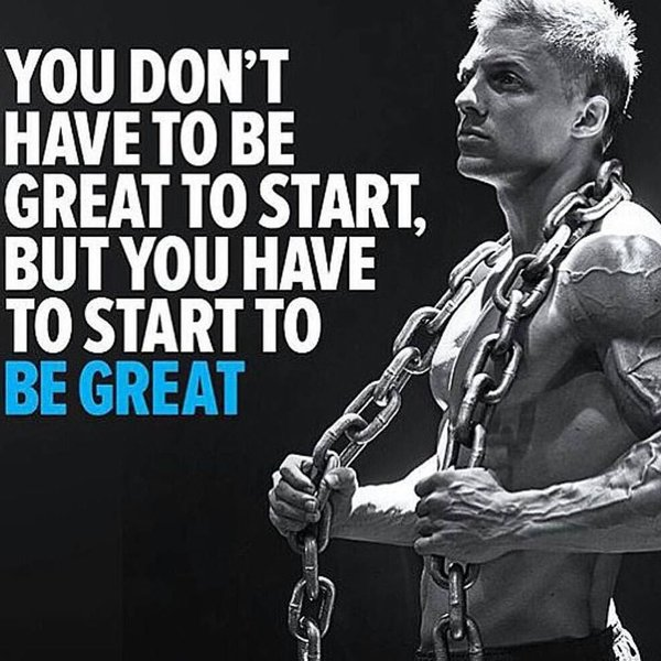 Be Great Quotes: You Don't Have To Be Great To Start
