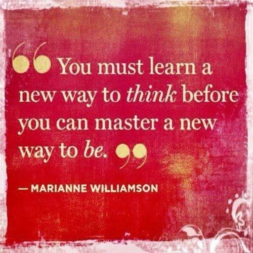 Picture quote by Marianne Williamson about learn