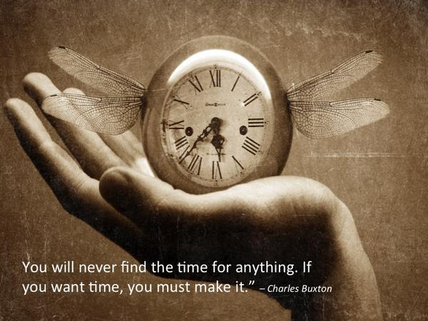 Picture quote by Charles Buxton about time