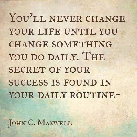 you will never change your life until you change s picture quote by john c maxwell. Black Bedroom Furniture Sets. Home Design Ideas