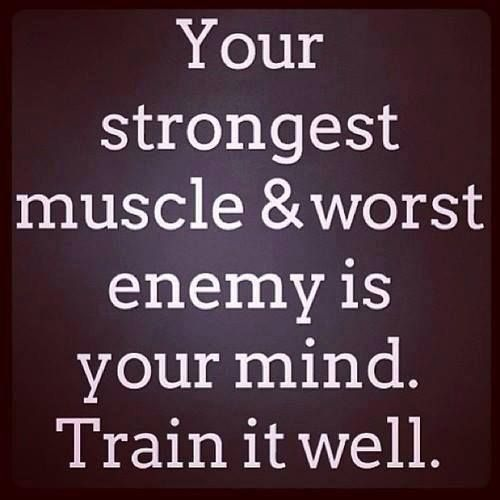 Your strongest muscle  - Sayings